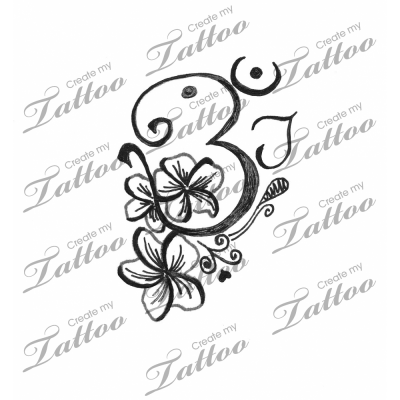plumeria flower tattoo. Plumeria flowers. Rating: