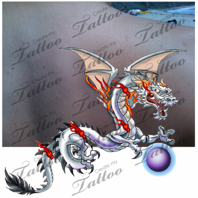 White Dragon Tattoo Mod. Rating: